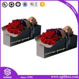 Cadre de empaquetage de papier fait sur commande en gros de fleur