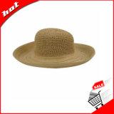 Chapéu de papel de Sun da palha
