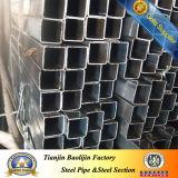 Tubo d'acciaio vuoto quadrato strutturale di Shs Stkr400 del acciaio al carbonio (SHS)
