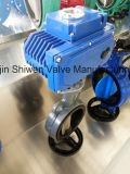 Клапан-бабочка вафли места Di/Ci EPDM с пневматическим приводом