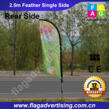 Digital Printing 100% Polyester Display-Feder-Flagge Banner