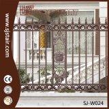 Rete fissa di alluminio del giardino del metallo della fusion d'alluminio di Outdor di obbligazione di stile di Roma per la villa