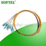 Pigtail do pacote de fibra do LC MU SMA multi