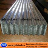 Strato d'acciaio galvanizzato ondulato del tetto dello strato/cgi del ferro