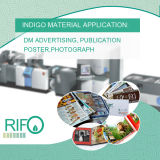 Film imprimable de synthétique de l'indigo BOPP de ventes directes de l'usine Rnd-54
