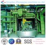Machine de grenaillage de la plaque tournante Q76