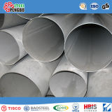 ASTM AISI JIS SUS Tuyau / tube sans soudure en acier inoxydable pour la construction