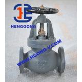 Robinet d'arrêt sphérique d'eau/huile de fer de moulage d'ANSI/JIS/acier inoxydable