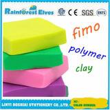 Il polimero dello SGS cuoce la cancelleria Fimo che modella l'argilla di colore