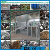 Holz/Hard Block/Pipes Plastic/Foam/Solid Waste/Tire/Rubber/Scrap Metal Shredder mit Double Shaft