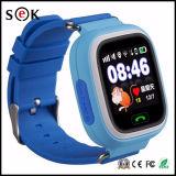 Fabrik Großhandels-Kinder GPS-Verfolger-intelligente Uhr des IPS-Screen-Telefon-Aufruf-Q90 für Kinder