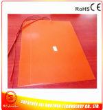 calefator da borracha de silicone do calefator da impressora 3D de 120*300*1.5mm