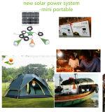 2015 kits ligeros solares portables, kits solares de la iluminación del LED