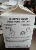 Tipo desbastado do manual da máquina da selagem da caixa da parte superior do frontão da cebola