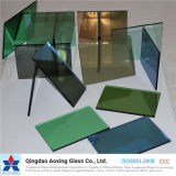 Glace r3fléchissante isolée/couleur pour la glace de construction/glace décorative