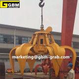 Eletro cubetas de aço hidráulicas da garra da sucata