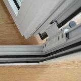 Ventana de aluminio del marco del perfil del color de la alta calidad Kz220 de la rotura termal revestida blanca del polvo con el bloqueo multi