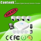 4 Kanal 1080n Xvr u. Kamera-Installationssätze