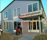 Edificio prefabricado de la estructura de acero de Commerical del diseño moderno (DG3-020)