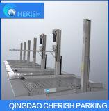 Levage de stationnement de poste du stationnement SUV deux de vente d'usine