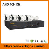 Cometa 720p High Definition 4CH Ahd DVR Kit con Bullet Camera