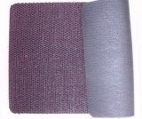 Unfoamの薄い絹の裏付けが付いているスリップ防止PVCコイルのドア・マット