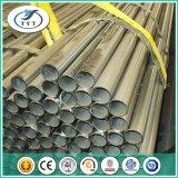Tubo de acero galvanizado de la INMERSIÓN caliente del andamio del precio de fábrica de Tianjin Q235 48m m