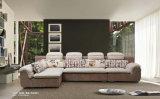 Sofa à la maison de tissu de meubles de la Chine de qualité de deux couleurs (360)