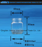 Küche-Speicher-Glasflasche mit Leck-Beweis-Schutzkappe
