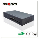Saicom (SCRG2-20403M) Träger-Grad 1000Mbps intelligenter LWL-Schalter 3GX+4GE für IP-Kamera