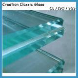 Vlak Gehard Gelamineerd Glas voor de Bouw van Glas