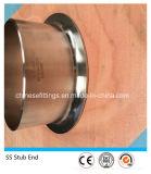 Extrémité sans joint de moignon de l'acier inoxydable Ss304 316L d'ASTM A403