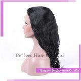 Parrucca piena non trattata del merletto dei capelli umani di Remy del Virgin della fabbrica all'ingrosso