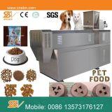 El acero inoxidable sacó línea de la producción alimentaria del perro