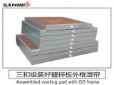 高性能の最も大きい製造業者の蒸気化冷却のパッドの壁