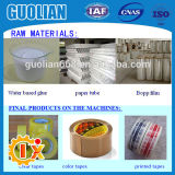 Macchina a nastro adesiva di produzione di sigillamento di alta precisione BOPP di Gl-500b