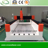 重い石造りの彫版機械CNCのルーター