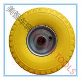 3.00-4 Pneu de solide de mousse d'unité centrale de roue de chariot à chariot