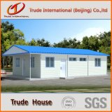 Edifício móvel/modular do painel de sanduíche de aço claro/pré-fabricou/a casa viva família Prefab
