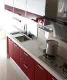 Küche-Möbel-leistungsfähige glatte Lack-Küche-Schränke 2017 (zz-033)