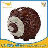 Подарок коробки сбережения деньг венчания Piggy крена монетки бейсбола керамический
