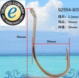 Edelstahl-Fischerei-Haken-einzelner Haken 92554