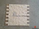Beige Marmeren Mozaïek voor de Decoratie van het Huis, de Tegel van de Steen