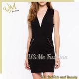 Massenklassische gute QualitätsV-Deap Stutzen-Frauen-Großhandelskleider