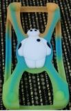 Творческое 3D милое Cartoon Duck Case Soft Silicone Case