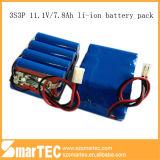 18650 3s3p李イオンBattery Pack 11.1V 7.8ah