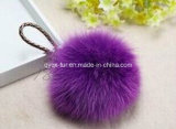 5-15 Cm에 있는 공장 Wholesale Genuine Faux Fox Fur Ball