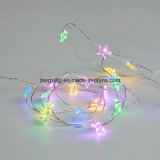 Weiches Warm White Batterie-angeschaltene LED Spacing 5cm LED Fairy Lights