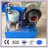 販売のセリウムのフィン力PLCの油圧ホースのひだが付く機械