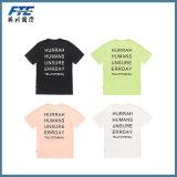 La alta calidad barata de la camiseta de algodón camiseta de encargo